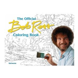 ⭐️NEW⭐️The Official BOB ROSS Coloring Book